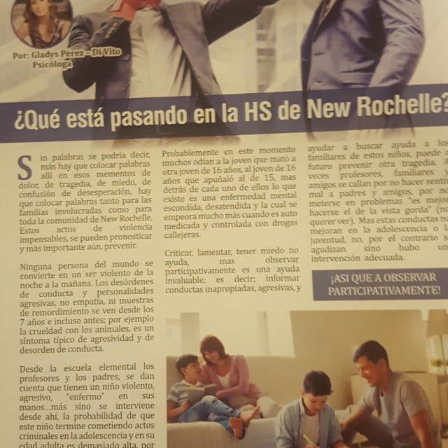 Que est pasando en la HS de New Rochelle? kaffurymagazinehellip