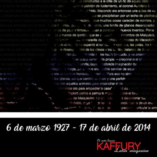 Un homenaje al escritor colombiano Gabriel Garcia Marquez kaffurymagazine westchestercountyhellip