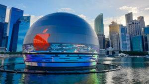 Read more about the article Apple abrirá tienda flotante en Singapur
